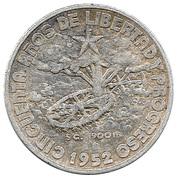 20 centavos (50 ans de la République) -  revers
