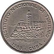1 peso (INTUR) – avers
