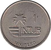 1 peso (INTUR) – revers