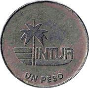 1 peso (INTUR, sans le 1) – revers