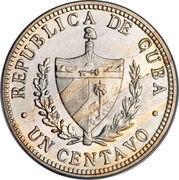 1 centavo (1re République) -  avers