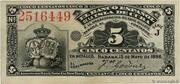 5 Centavos – avers