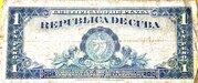 1 Peso, Certificados de Plata Issue – revers