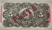 5 pesos – revers