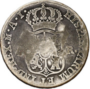 4 Reales (Countermarked) – revers