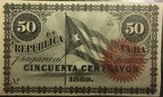 50 Centavos – avers