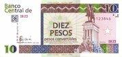 10 Pesos Convertibles -  avers