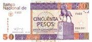 50 Pesos Convertibles -  avers