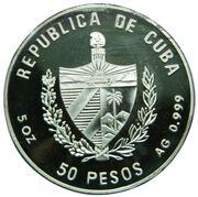 50 pesos (Anne Bonny) -  avers