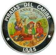 50 pesos (Anne Bonny) -  revers