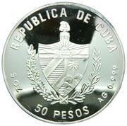 50 pesos (Barbe Noire) -  avers