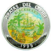 50 pesos (Barbe Noire) -  revers