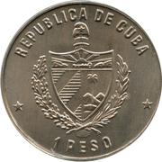 1 peso (Don Quichotte et Sancho Panza) -  avers