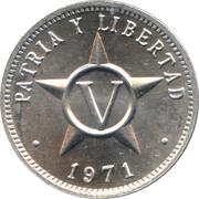 5 centavos -  revers
