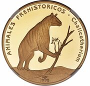 200 Pesos (Chalicotherium) – revers