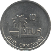 10 centavos (INTUR - acier) – revers
