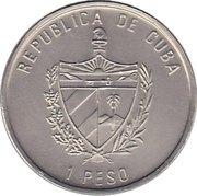 1 Peso (Stegosaurus) -  avers