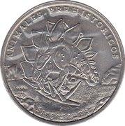 1 Peso (Stegosaurus) -  revers