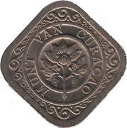 5 cents - Wilhelmina -  avers