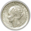 10 cents - Wilhelmina -  avers
