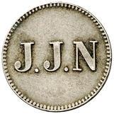1 stuiver jeton - Jacob Jeosuah Naar – avers