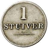 1 stuiver jeton - Jacob Jeosuah Naar – revers