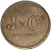 1 stuiver jeton  - Jesurun et Co. – avers