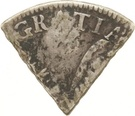 3 Reaal, 18 Stuiver (British Occupation - Countermarked 3 dentilated) – revers