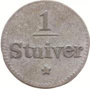 1 Stuiver – revers