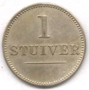 1 stuiver jeton  - Jesurun et Co. – revers