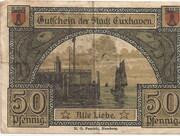 50 Pfennig (Cuxhaven) – revers