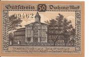 50 Pfennig (Dahme) – revers