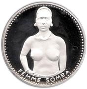 1000 francs (Anniversaire de l'indépendance) – revers