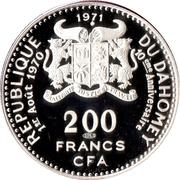 200 francs CFA (Anniversaire de l'indépendance) – avers