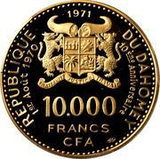 10 000 francs CFA (Anniversaire de l'indépendance) – avers