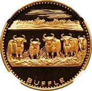 5000 francs CFA (Anniversaire de l'indépendance) – revers