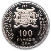 100 francs CFA (Anniversaire de l'indépendance) – avers