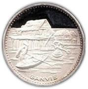 100 francs (Anniversaire de l'indépendance) – revers