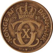 2 kroner Christian X -  avers