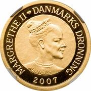 1000 Kroner - Margrethe II (Année polaire internationale 2007-2009) – avers