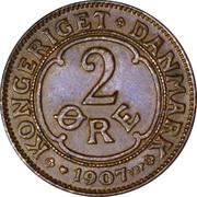 2 øre - Frédéric VIII – revers