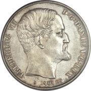 2 rigsdaler - Frederik VII – avers