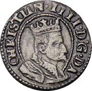 1 Søsling - Christian IV – avers