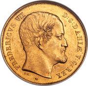 2 Frederiks d'Or - Frederik VII – avers