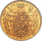 2 Frederiks d'Or - Frederik VII – revers