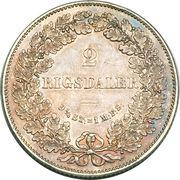 2 Rigsdaler - Christian IX – revers