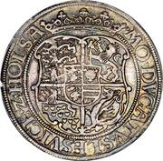 1 Sølvgylden - Christian III (Atelier de Flensborg) – revers