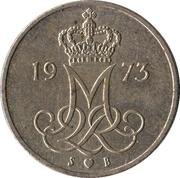 10 øre - Margrethe II -  avers
