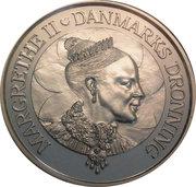 200 kroner - Margrethe II (anniversaire) – avers