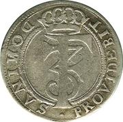 4 Skilling Dansk - Frederik III (monogram type) – avers